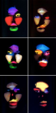 No makeup: Just Light Photography by Nick Knight