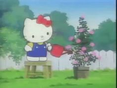 Hello Kitty Cartoon, Hello Kitty Art, Hello Kitty My Melody, Sanrio Hello Kitty, Pink Wallpaper Anime, 4 Wallpaper, Cute Wallpaper For Phone, Hello Kitty Wallpaper, Cartoon Gifs