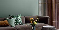 from Jotun LADY - Det nye fargekartet 2018 Interior House Colors, Home Interior Design, Interior Paint, Home Decor Inspiration, Color Inspiration, Decor Ideas, Jotun Lady, Narrow Living Room, Green Home Decor