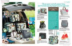 So excited about the new Making Memories Thermal!! The only thing that can make a Thirty-One thermal tote even better...is putting it on wheels!