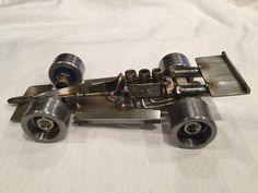 Monoplaza de fórmula Indy inoxidable por AjaxMetalWerx en Etsy