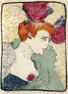 Henri Toulouse-Lautrec , Marcelle Lender in »Chilpéric«, 1893