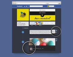 beautiful, concepts, creative, Inspiration, popular, project, redesign, websites