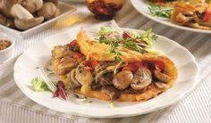 Raňajky ako lusk: Zapečené hubové omelety | DobreJedlo.sk
