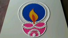 Best Rangoli Design, Rangoli Designs Latest, Latest Rangoli, Rangoli Designs Flower, Free Hand Rangoli Design, Small Rangoli Design, Rangoli Designs Images, Mehndi Designs, Easy Diwali Rangoli