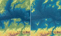 Map shows how London would be submerged if ice caps melted
