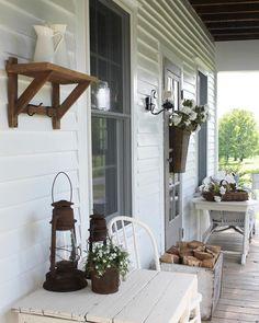 Home again, home again, jiggety - jig. #farmhouse5540 #simplefarmhousestyle #farmhouseporch