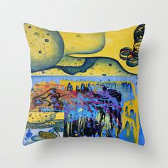 soul mirrors  Throw Pillow by Loosso - $20.00