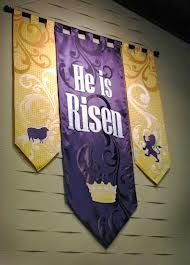 church banners easter - Google Search