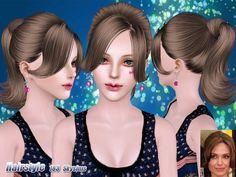 Ponytail hair 183 by Skysims
