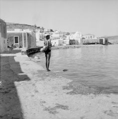 Paros island Photo by Zacharias Stellas Benaki Museum Photographic Archives