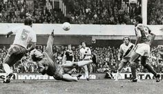 20 September 1980 Bob Latchford completes his hat trick as the Blues beat Palace 5-0