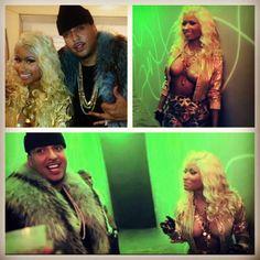 French Montana and Nicki Minaj