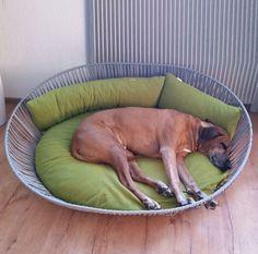 Hundbädd SIRO Twist från pet-interiors.de