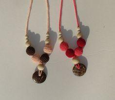 organic Nursing necklace Organic Teething by creativeladys on Etsy, $14.00