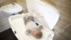 #Przewijak na ścianę | #dziecko #higiena #WC