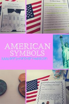 science experiments, social studies lessons, close reading passages, writing activities, crafts and more on American symbols.