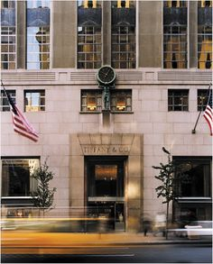 Tiffany & Co, NYC. One day I will go and buy a piece from this very place ......
