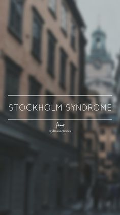 Stockholm Syndrome • Four Lockscreen — ctto: @stylinsonphones
