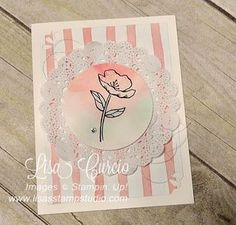 Sample Pinned from the Creative Inking Blog Hop Linda Bauwin - CARD-iologist Helping you create cards from the Heart.