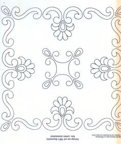 Awesome Most Popular Embroidery Patterns Ideas. Most Popular Embroidery Patterns Ideas. Tambour Embroidery, Paper Embroidery, Embroidery Stitches, Embroidery Patterns, Quilt Patterns, Crochet Patterns, Border Embroidery Designs, Quilting Designs, Machine Embroidery Designs