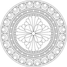 Some day I will draw more mandalas to share, but for now I will share the work of others I have appreciation for. Mandala coloring page.