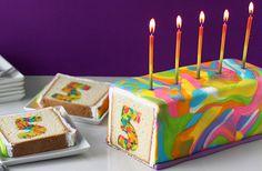 Så gör du en siffertårta