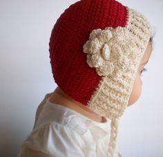 Christmas baby hat  Etsy: LovelyKensie