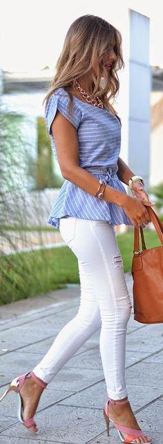 Zara Bi Tone Metallic Accent Ankle Strap Heeled Sandals by Mi Aventura Con La Moda