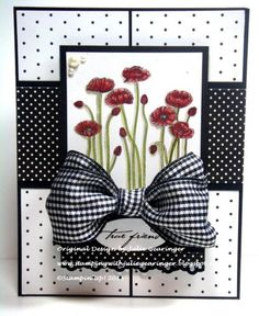 SC459 Poppy Friendship by Julie Gearinger - Cards and Paper Crafts at Splitcoaststampers