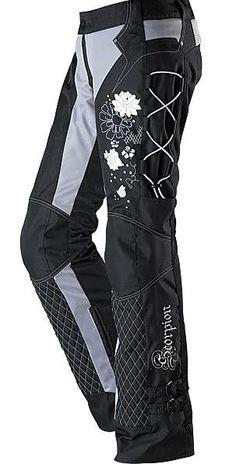 Womens Scorpion Motorcycle Pants Savannah Spring - Rocky Top Leather