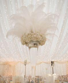 Vintage Hochzeit Deko Idee! Wir finden es fabelhaft...