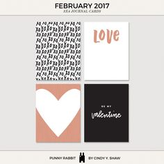 Free February Journa