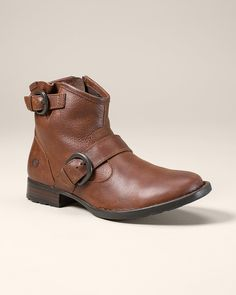 Børn® Raisa Short Engineer Boots | Eddie Bauer (Chesnut, 7.5)