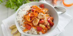 KochAbo.at - Putenfleisch süß-sauer mit Gemüse