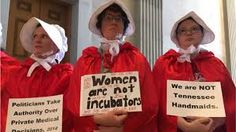 Image result for handmaid's tale protest
