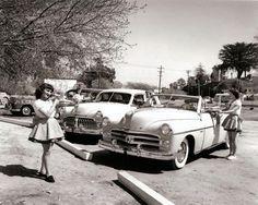 Car hop c. 1950s