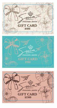 #giftcard #sucacard una opción original y divertida para regalar ... regala #Suca ... regala #dulzura