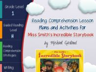 This lesson plan activity package for Miss Smith's Incredible Story Book comes complete with teacher guides, reading comprehension strategy lesson plans, reader's notebook worksheets, vocabulary activ...  Click to see more