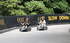 One of our favourite things to do at Sentosa!