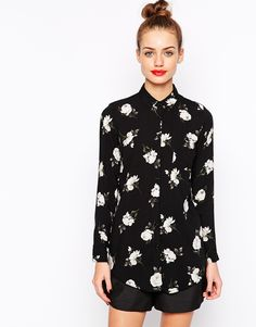 Image 1 of New Look Vintage Long Sleeve Shirt