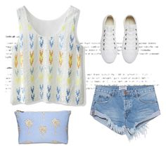 """""""Untitled #208"""" by ema-jones on Polyvore featuring Chicwish, One Teaspoon and Converse"""