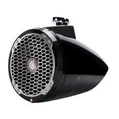 """Rockford Fosgate PM282B Punch Series 8"""" Wakeboard Tower Speaker - Black - https://www.boatpartsforless.com/shop/rockford-fosgate-pm282b-punch-series-8-wakeboard-tower-speaker-black/"""