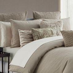 Comforter Sets Madrid Antique Gold 3-Piece Comforter Set Latest Bedding Luxury Comforter Sets, Bedroom Comforter Sets, Queen Comforter Sets, Bedroom Bed, Linen Bedding, Master Bedroom, Bed Linens, Bedrooms, Masculine Bedding
