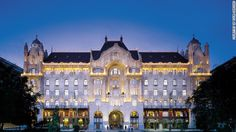 The Four Seasons breathed new life into what is now the Hotel Gresham Palace Budapest. This 1906 Art Nouveau structure features mosaic tiles and stained-glass windows.