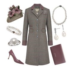 """""""Touring Country Estate"""" by nmccullough ❤ liked on Polyvore featuring DUBARRY, NERIDA FRAIMAN, Manolo Blahnik, Givenchy, Devon Page McCleary, Blue Nile and country"""
