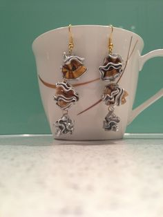 Second set of Nespresso earrings
