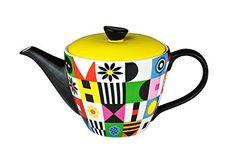 Tea Pots, Ceramics, Retro, Tableware, Design, Teapot, Mosaics, Pictures, Ceramica