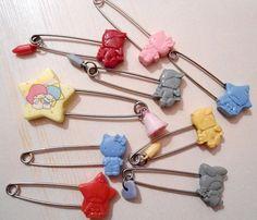【1976】Saftey Pins ★Little Twin Stars★