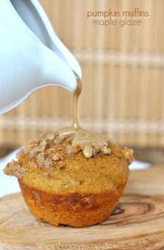 12. Pumpkin Muffins With A Maple Glaze | 101 Pumpkin Recipes From Drinks To Dessert